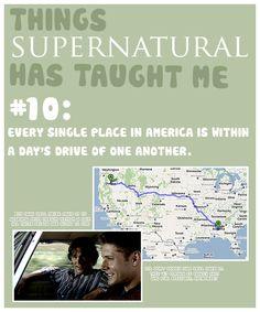 things supernatural taught me