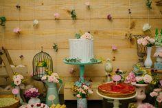 Garden Birthday, 1st Birthday Parties, Birthday Party Decorations, Table Decorations, Secret Garden Parties, Festa Party, Garden Theme, Furniture, Home Decor