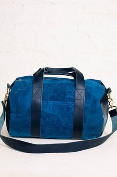 39a57f7d8593 Indigo Midnight Mini Duffel by cook   gates for Of a Kind