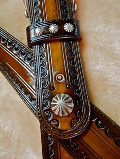hand tooled leather guitar strap #guitar #strap #tooled @Wendy Felts Werley-Williams.etsy.com/shop/matardesign
