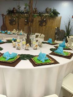 Jungle/Safari Baby Shower Party Ideas | Photo 1 of 10 | Catch My Party