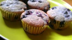 Allergy-Free Recipes: Blueberry Muffins - Gluten Free, Egg Free, Soy Free