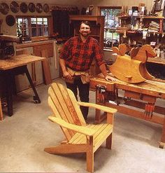 Adirondack Chair Plans | Norm Abram Adirondack Chair | Woodworking Project Plans