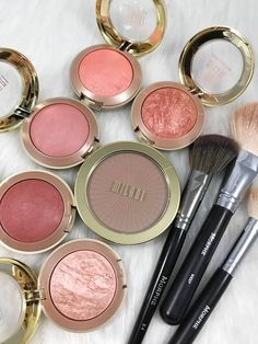 everyday makeup looks, natural makeup looks, no makeup makeup, affordable makeup. Drugstore Blush, Milani Blush, Milani Baked Blush, Drugstore Makeup, Makeup Glowy, Sephora Makeup, Beauty Makeup, Cute Makeup, Gorgeous Makeup