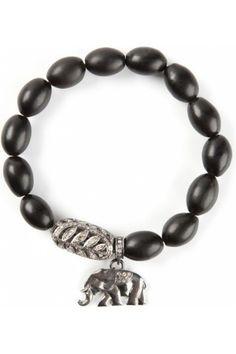 Koop Gold And Diamond Pavé Elephant Bracelet - Mode Zoeken.nl
