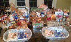 Thanksgiving Baskets for Charity