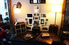 One of the many vintage stores we visited in Lille recently. Vintage Stores, Lighting, Room, Home Decor, Vintage Shops, Bedroom, Decoration Home, Room Decor, Lights