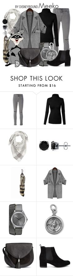 """""""Meeko"""" by leslieakay ❤ liked on Polyvore featuring J Brand, Charlotte Russe, BERRICLE, DKNY, BillyTheTree, disney and disneybound"""