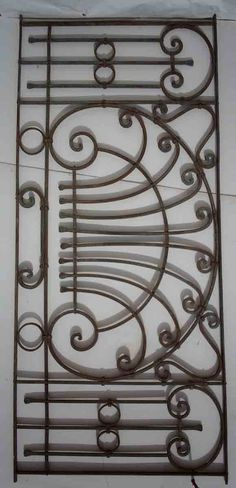 Wrought Iron Ornate Gates/Fences 3 - Click Image to Close