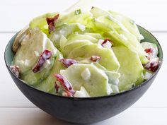 Cucumber Salad : Cool down your summer cookout with this quick and easy side salad. via Food Network