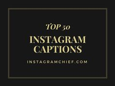 Captions tell lot about your pictures. It's the way of expressing your thoughts about picture. Instagram Captions are necessary because they tell you more