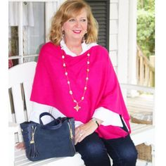 Here's to a stylish start for your new work week in a pretty poncho that was made for 9 to 5! Shop our fall weather must-haves online! Link in profile @twofriends_stsimons #tfssi #stsimonsisland #seaisland