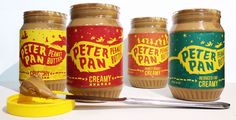 Peter Pan Peanut Butter (Student Project) on Packaging of the World - Creative Package Design Gallery