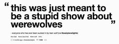 "This quote gets reblogged over and over again. | Tumblr vs. A New ""Teen Wolf"" Episode"