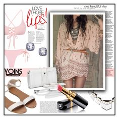 """""""Yoins"""" by miranda-993 ❤ liked on Polyvore featuring Chanel, yoins and loveyoins"""