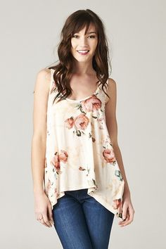 Blake Jersey Top on Emma Stine Limited  - LOVE the top. I bought 2 from Hautelook (except it was called a shark bite hem.)