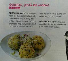 Bolas de quinoa y frutos secos