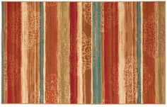 Mohawk Home Mohawk® Home Mumbai Rainbow Striped Rug