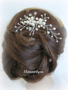 love this too - would work out great if connected to a barrette clip.  Throw in a few blue beads to add a splash of color.