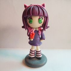 League of Legends LOL Annie Q version Polymer Clay Action Figure   League Of Legends LOL Summoners Club