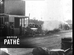 Futurists Idealized the Racing Automobile! Motor Racing (1900-1909)