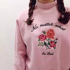 No Matter What, I'm Real Sweater