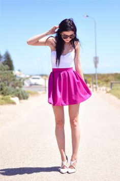 STREET STYLE PINK COLOUR OF THE WEEK