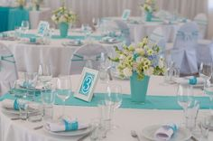 Wedding Tiffany decor