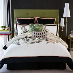 d2000cd165afe Christian Siriano Tropical Paradise Comforter and Pillow Shams