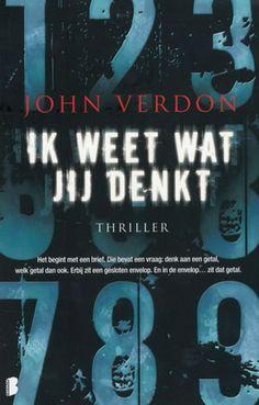 John Verdon heeft in zijn debuut, het boek Ik Weet Wat Jij Denkt, geprobeerd een nieuwe draai aan het seriemoordenaar-thema te geven.