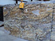 Golden Ray Granite Slab 1151