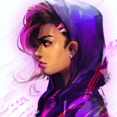 sad because i can only play w her tomorrow aaa #sombra #overwatch