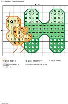 alfabeto dei pulcini: H