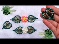 Folha de pérolas tipo Costela de Adão - YouTube