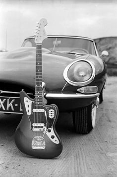 The Fender Jaguar is an electric guitar by Fender Musical Instruments designed with by an offset-waist body, an unusual switching system with 2 separate circuits for lead & rhythm, & a medium-scale neck. It came out in '62 as Fender's feature-laden top-of-the-line model, designed to lure players from Gibson. After it was removed from production in 1975, vintage Jaguars became popular 1st with punk rock players, & then more so during the alternative & indie rock movements of the 80s and 90s