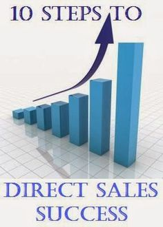Sales Moms: 10 Steps to Success in Direct Sales                                                                                                                                                                                 More Direct Marketing, Sales And Marketing, Online Marketing, Home Based Business, Business Tips, Direct Sales Tips, Direct Selling, Steps To Success, Plexus Products