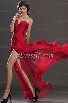 Descripcion:  *Corselet plissé avec des perles  *Une fente à droite  *Zippée à gauche  *Tencel fabric(No.1 sur la palette)  *Longuer de la robe avec le train (environ 155cm de l'épaule a l'ourlet devant)