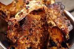 Appelsiiniset Tuile-keksit Maalahden Limpusta Banana Bread, French Toast, Breakfast, Desserts, Food, Morning Coffee, Meal, Deserts, Essen