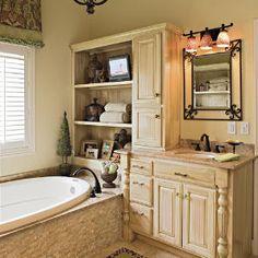 65 Calming Bathroom Retreats | Try Texture | SouthernLiving.com