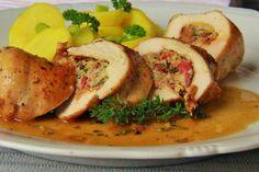 V kuchyni vždy otevřeno ...: Kuřecí plněné brynzovou směsí