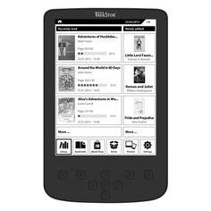 eBook Reader 15,2 cm (6 Zoll), Pyrus 2 LED van 99,= voor Euro 39,=