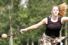 Girls Rock the Scottish games Scottish Highland Games, Scottish Highlands, Scotland Castles, Men In Kilts, Foil Art, My Heritage, Powerlifting, Tartan, Fit Women