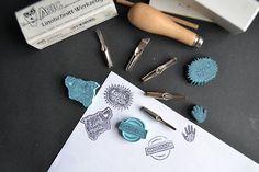 Handmade stamps.