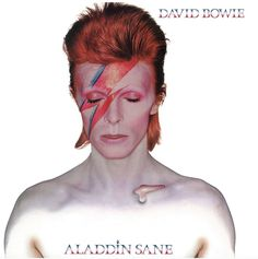 It's no surprise that #ALADDIN #SANE and #PIN #UPS came out in the same year. Each drip with the seedy sexuality of London's late '60s sexual revolution. Yet, while PIN UPS was a mid-'60s sampling of influences--a glorified cover album-- #ALADDIN #SANE was all #Bowie. #David #Bowie #DavidBowie #CD #ProgressiveArtRock