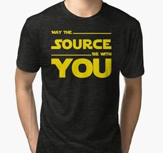 May The Source Be With You - Stars Wars Parody for Programmers by ramiro