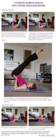 Yoga Gypsy: Yoga Tip Tuesdays: the 'other' shoulderstand Namaste Yoga, Yoga Meditation, Yoga Moves, Yoga Exercises, Yoga For Stress Relief, Yoga Props, Daily Yoga, Yoga Benefits, Best Yoga