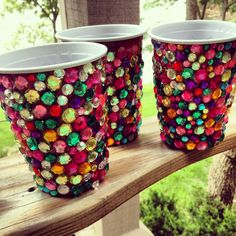 bedazzled red solo cups