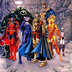 Shi'ar Imperial Guard - Gladiator, Warstar, Deathbird, Emperor Vulcan, Titan…