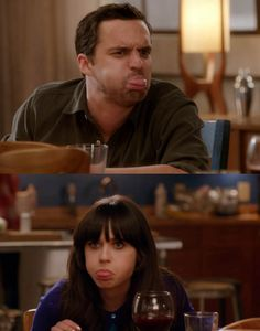 Pretty much belong together. Nick and Jess! -New Girl New Girl Nick And Jess, New Girl Tv Show, New Girl Quotes, Tv Quotes, Jake Johnson, Jessica Day, Nick Miller, Tv Couples, Film Serie