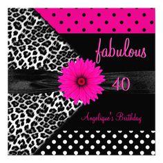 21 Best 40th Birthday Invitations Wording Images 40th Birthday
